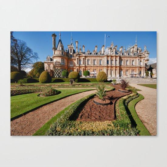 Waddesdon Manor Canvas Print