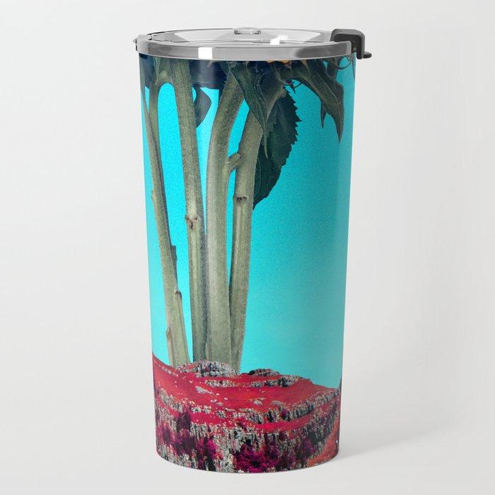Giant Helianthus Travel Mug