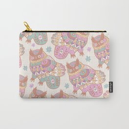 Cosmic Owls Carry-All Pouch
