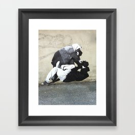 BANKSY  Framed Art Print
