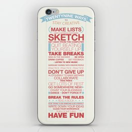 29 Ways to Stay Creative iPhone Skin