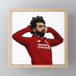 Mo Salah Framed Mini Art Print