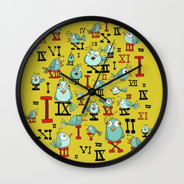 Chicky Time Wall Clock