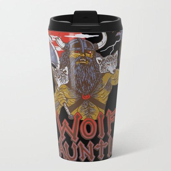 Wolf Gauntlet Metal Travel Mug