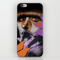 "karen hallion iPhone & iPod Skins featuring ""Karen O"" by Samy Vincent"