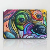 the hound iPad Cases featuring Hound Dog by EloiseArt