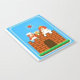 Mario & Peach castle Notebook