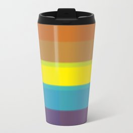 Retro? No. Modern background #society6 #decor #buyart #artprint Travel Mug