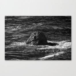 Eroding Canvas Print
