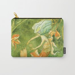Treasures of the Lotus Nymph Carry-All Pouch