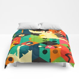 Poached Egg Party Comforters