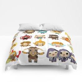 chibi kawaii gods of the greek mythology Comforters