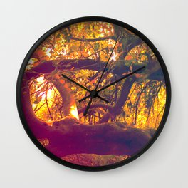 Infinite Connection Wall Clock