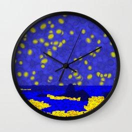 Golden Rio Wall Clock