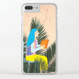 Holiday Mood I Clear iPhone Case