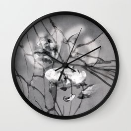 Silent and Distant Wall Clock