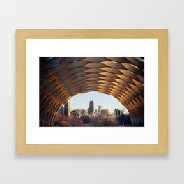 People's Gas Pavilion in Chicago's Lincoln Park Framed Art Print
