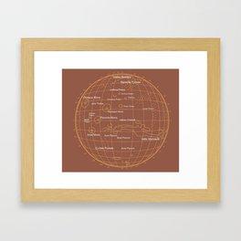 Mars 1 Framed Art Print