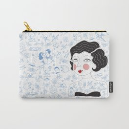 Tattooed Betty Carry-All Pouch