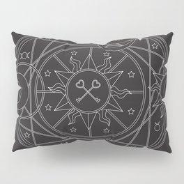 Witch's Mandala Pillow Sham