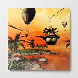 Fantasy world Metal Print