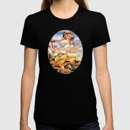 Glitch Pin-Up Redux: Xena T-shirt