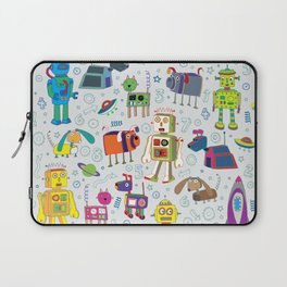 Robots in Space Laptop Sleeve