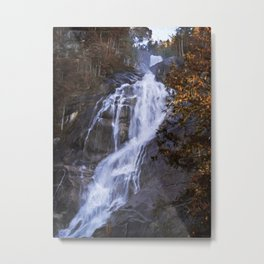 Tranquility Of Creation - Waterfall Art Metal Print