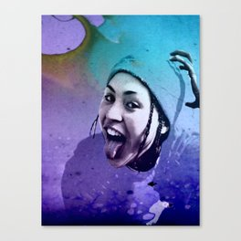 JUST FUN Canvas Print