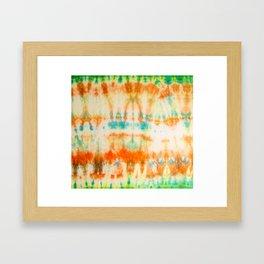 rainbow sun Framed Art Print
