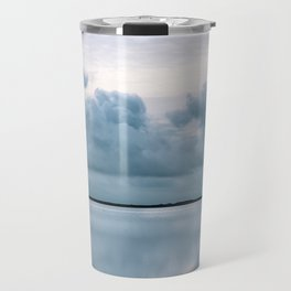 Epic Sky reflection in Iceland - Landscape Photography Travel Mug