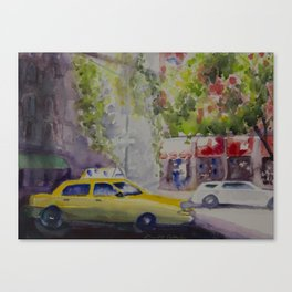 NYC TAXI Canvas Print