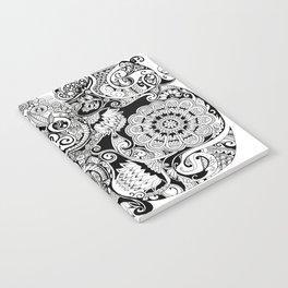 Botanical Pattern Notebook