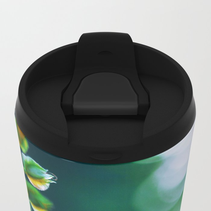 Fading Clarity Metal Travel Mug