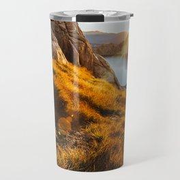 Golden Sunrise Travel Mug
