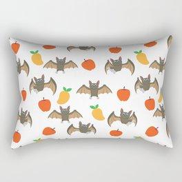 Bat Neck Gaiter Funny Bat Neck Gator Rectangular Pillow
