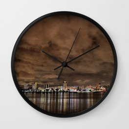 El Niño Skies Wall Clock