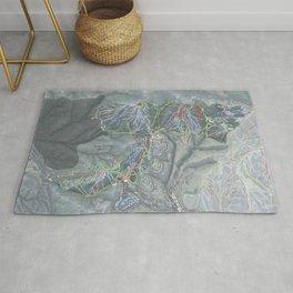 Deer Valley Resort Trail Map Rug