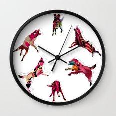perros Wall Clock