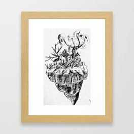 Tiny Home Framed Art Print