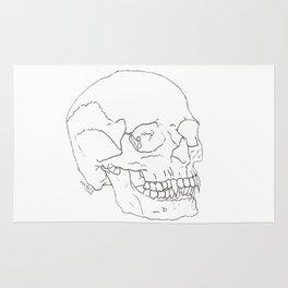 Vamp Skull Rug