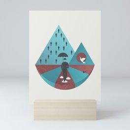 """""""Ceci n'est pas Magritte."""" Mini Art Print"""