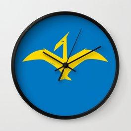 Simplesaurs: Dactyl Wall Clock