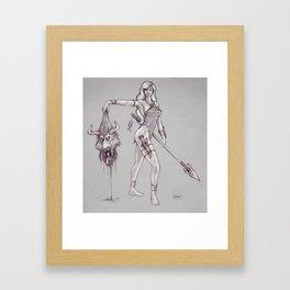 Amazon Warrior Framed Art Print