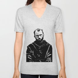 St Maximilian Kolbe Unisex V-Neck