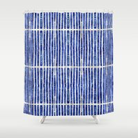 bamboo Shower Curtains featuring Bamboo by 83 Oranges™