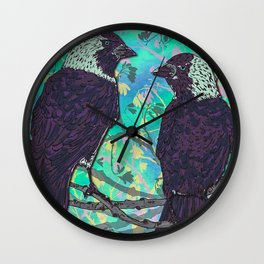 Forever Jackdaws Wall Clock