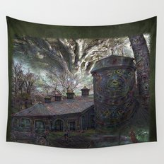 Dreaming ~ Silent Screaming Wall Tapestry