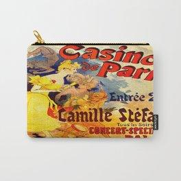 Vintage poster - Casino de Paris Carry-All Pouch