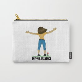 In your presence Carry-All Pouch